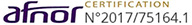 certifié Afnor